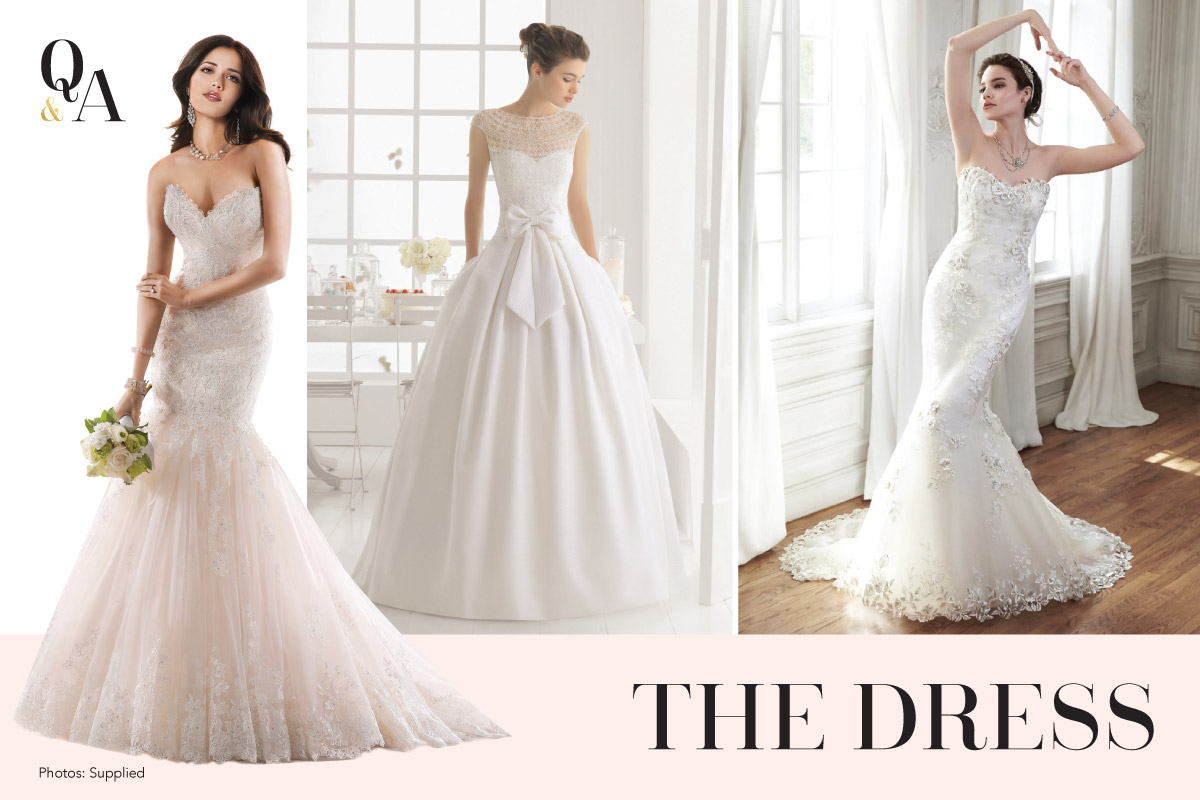 The Dress with Stella's Bridal & Evening Collections