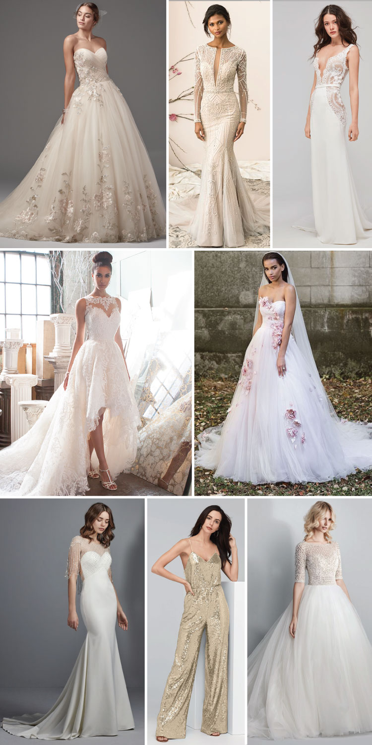 2018 Wedding Dress and Bridal Trends