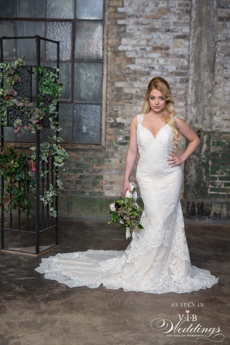 Wedding dress by Christie's Bridal & Boutique