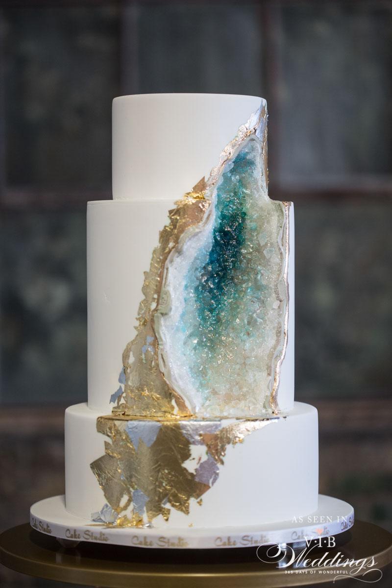 Geode Cake by Cake Studio