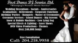 FIRST DANCE DJ SERVICE